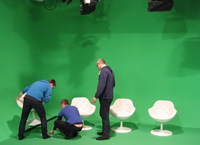 Virtuální studio v Praze