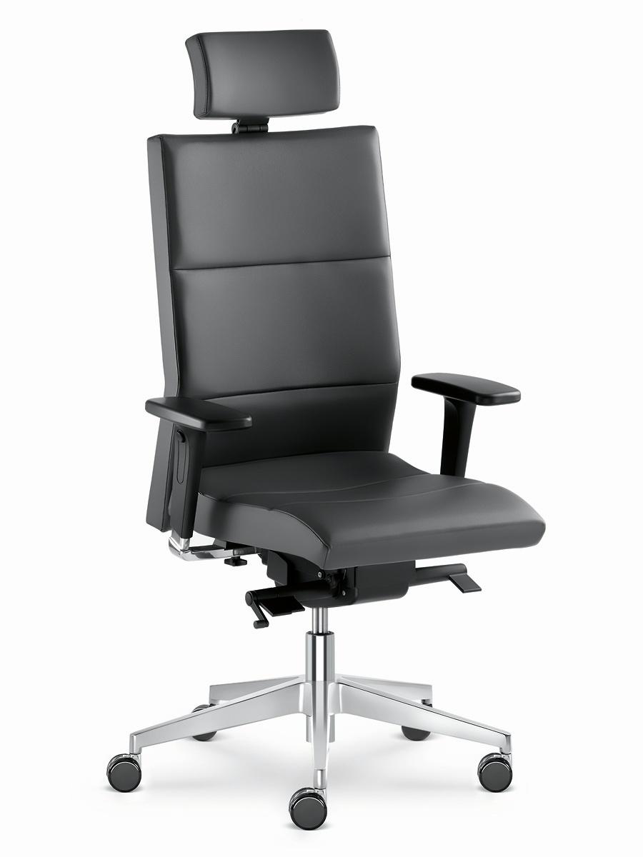 Kancelářská židle s podhlavníkem LASER 697-SYS