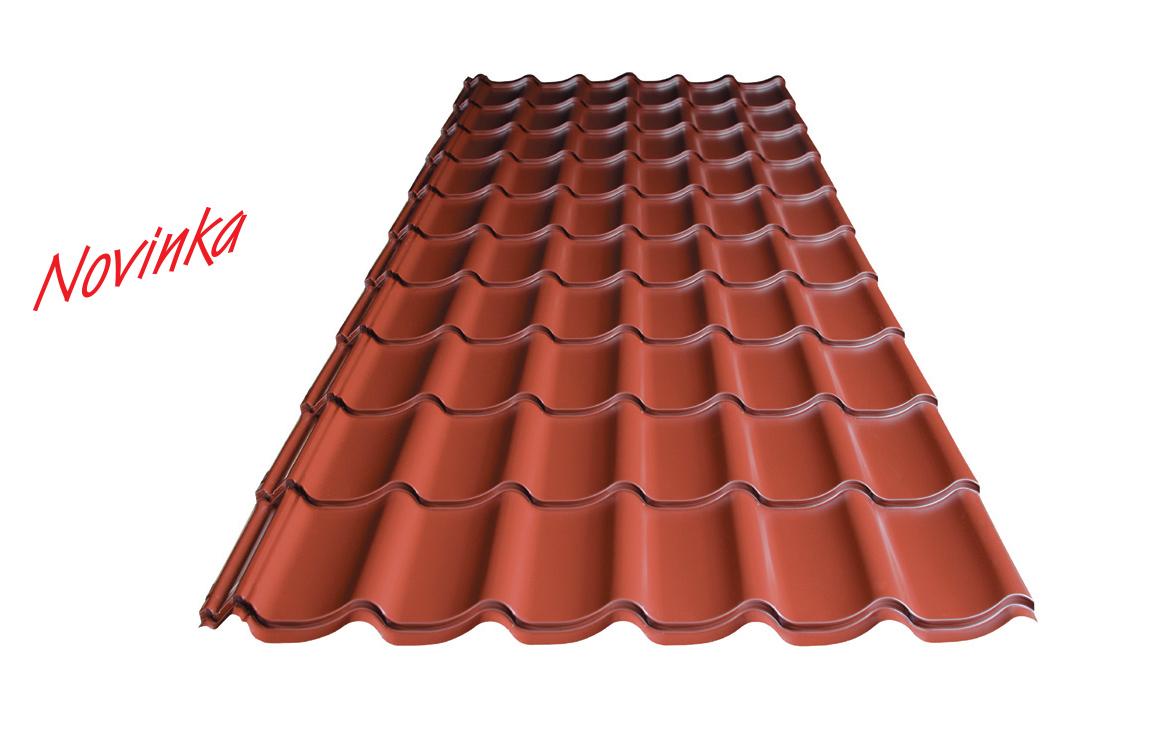 trapézové plechy a kvalitní střešní krytiny