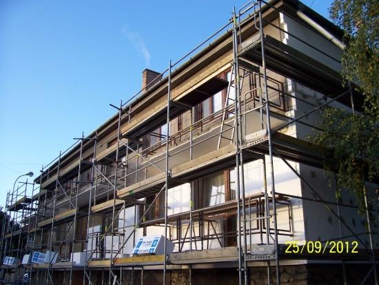 Zhotoven� �elezobetonov�ch monolitick�ch strop� a dal�� zednick�, stavebn� a bourac� pr�ce