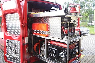Spolehlivá požární technika je základem bezpečnosti