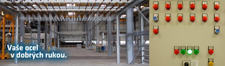 Postaráme se o malé součásti i rozsáhlé ocelové konstrukce.