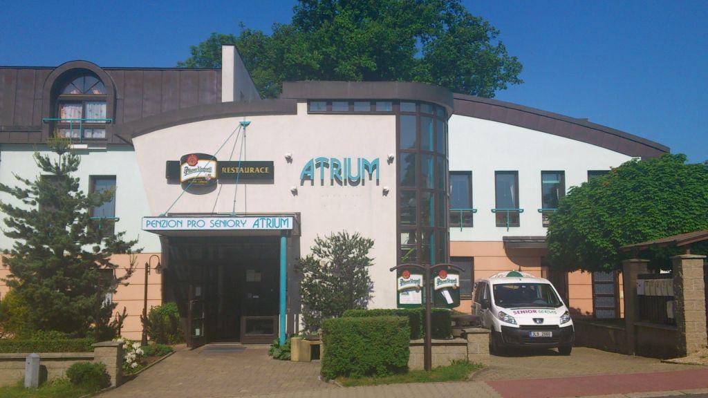 Penzion pro seniory Atrium Liberec, to je bezbariérové ubytování v příjemných prostorech.