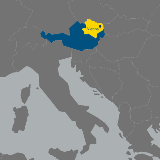 Dolní Rakousko nabízí příznivé hospodářské klima a podporu podnikání.