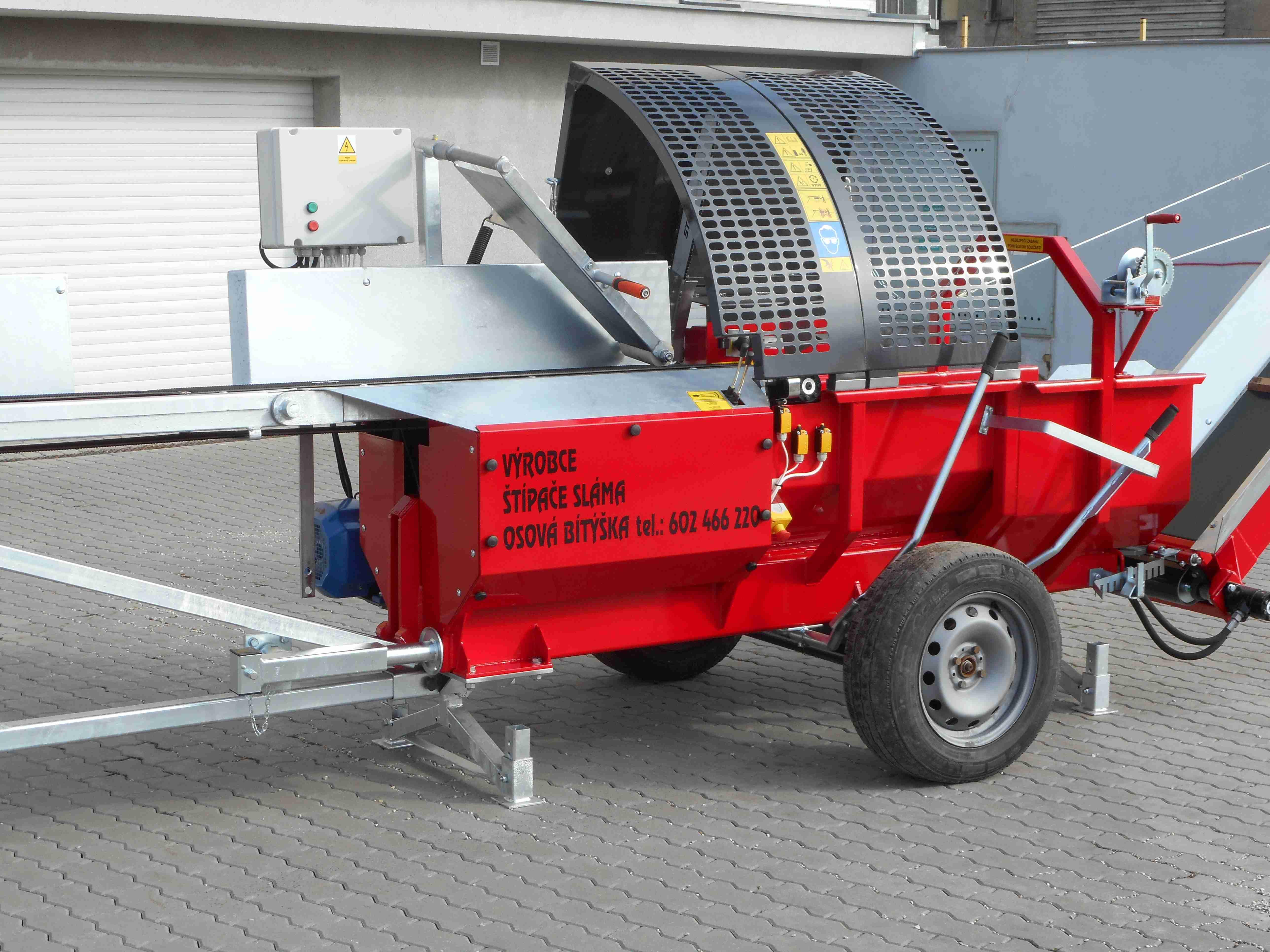 Štípač pro výrobu palivového dřeva
