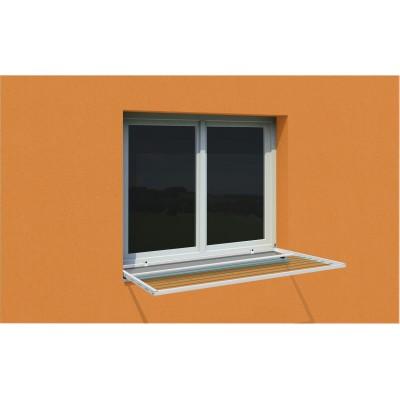 Okenní sušáky bez vrtání do oken a fasády