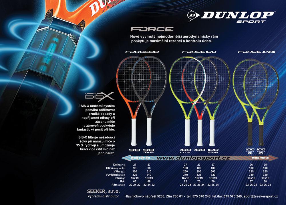 Velkoobchod se širokou nabídkou sportovního vybavení Dunlop, Carlton a Slazenger