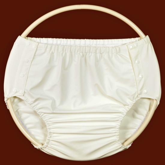 Zapínací inkontinenční kalhotky Poly vám zajistí pohodlí.