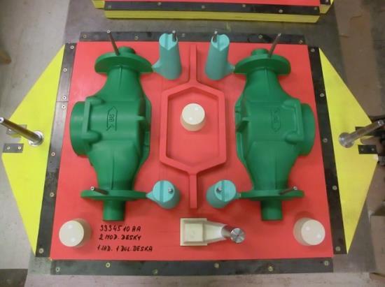 Slévárenské modely a formy z klasických i pokrokových materiálů