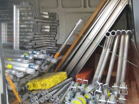 Pojízdné lešení BOSS – prodej i pronájem zajistí firma EMKOL Litomyšl