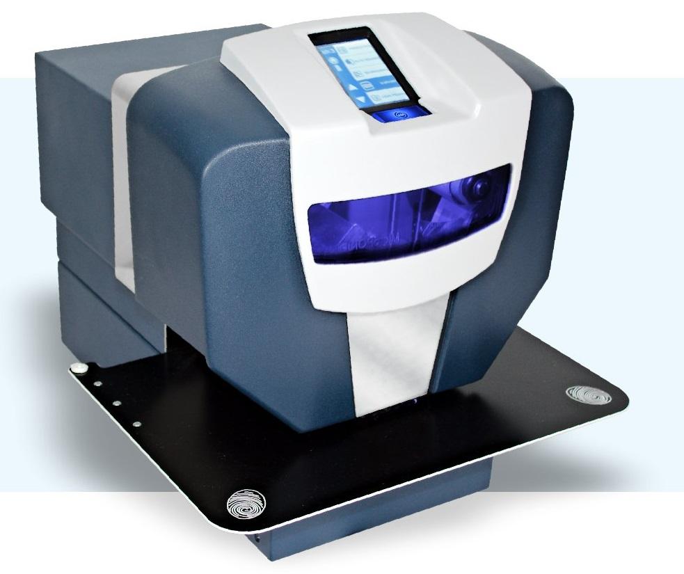Aplikace hologramů horkou ražbou pomocí zařízení MicroPOISE MK3