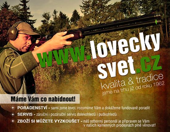 V�e pro �sp�n� lov na www.loveckysvet.cz