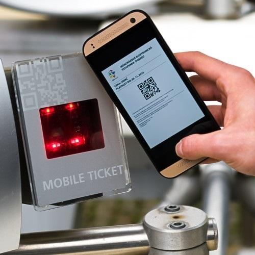 Místo papírové vstupenky využijte elektronickou vstupenku přímo z vašeho chytrého telefonu.