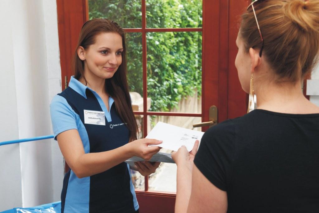 Postaráme se také o adresné doručování osobních nebo reklamních zásilek.
