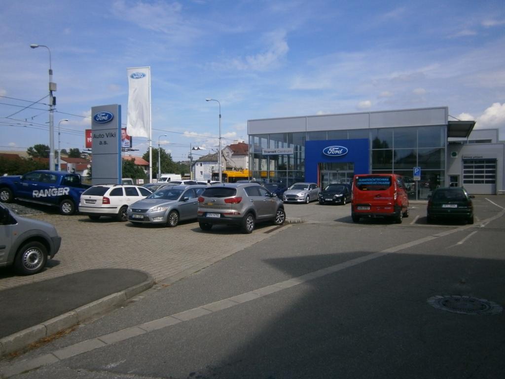 Prodej vozidel Ford, náhradní díly a autorizovaný servis