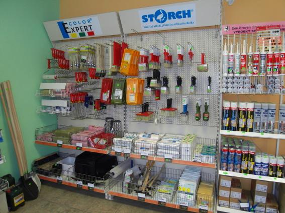 Výroba a prodej stavebních hmot a barev