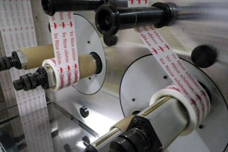 potištěné pásky - výroba