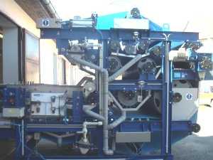 Pásové lisy na odvodňování kalů dodává a montuje firma KAPLAN