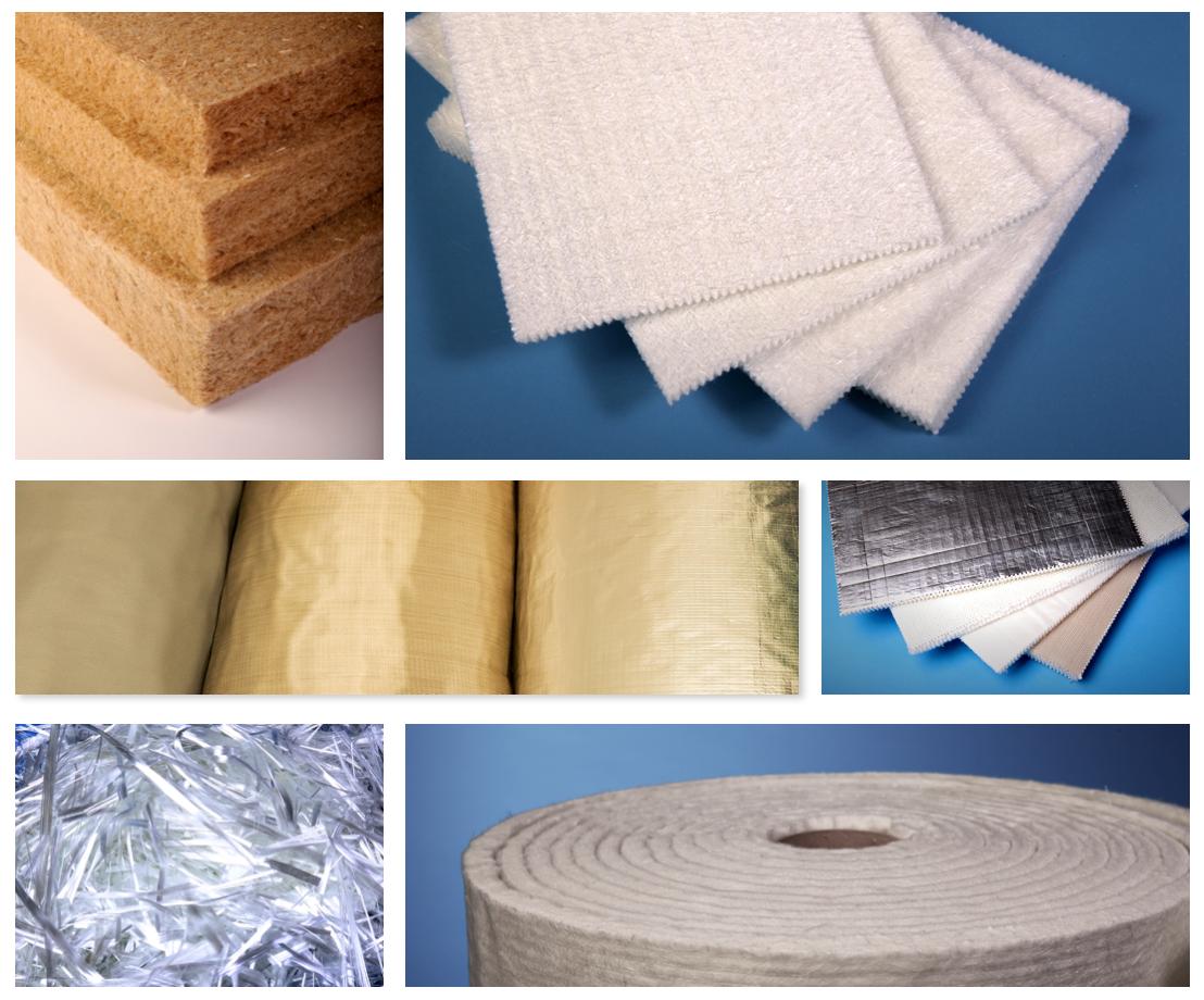 Izolační materiály ze skelných i přírodních vláken vyrábí firma KOBE-cz