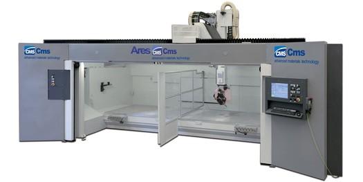 Vysokorychlostní obráběcí centrum ARES se díky maximální přesnosti hodí pro nejnáročnější obrábění.