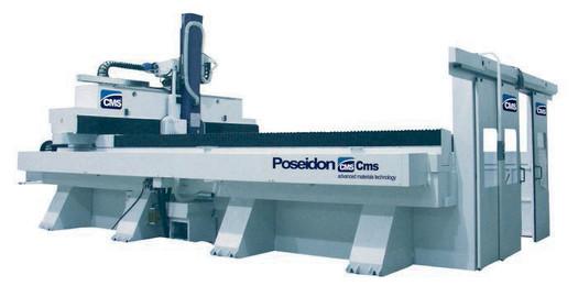Obráběcí centrum POSEIDON s 5 interpolovanými osami zvládne obrábění hliníku, slitin, kompozitních materiálů a mnohých dalších.