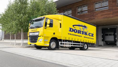 Kamionová doprava do Anglie