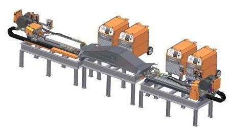 svařovací, plazmové a bodové stroje