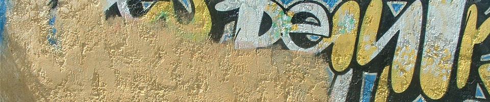 Vyřešíme za vás odstraňování graffiti a postaráme se o ochranu povrchů pro snadnější odstranění dalších maleb.