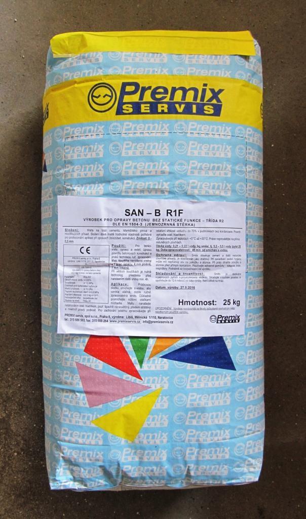 Jemnozrnné stěrky na povrchové úpravy betonu od českého výrobce