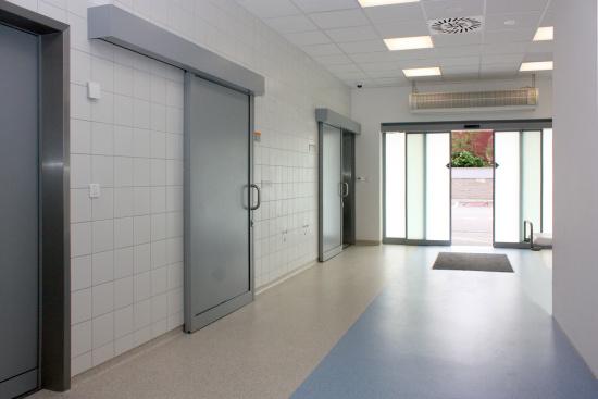 automatické posuvné dveře vnitřní