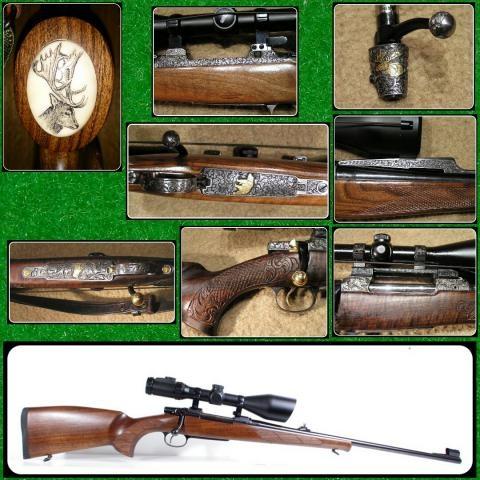 Zbraně, střelivo a další lovecké potřeby