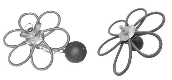 Komínové a kotlové kartáče v různém provedení přímo od výrobce