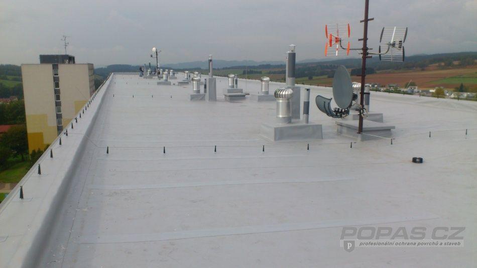 Hydroizolace plochých střech od skutečných odborníků