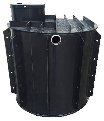 nádrž na dešťovou vodu k obetonování