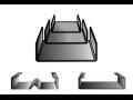 V našem sortimentu najdete profily vhodné pro konstrukční účely