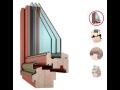 Dřevěná okna od značky VEKRA okna