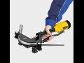Ohýbání ocelových trubek do průměru 22 mm díky ohýbačce REMS Hydro Swing