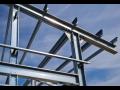 Konstrukční pevnostní profily pro opláštění ocelových a železobetonových hal