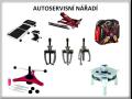 Kompletní sortiment ručního nářadí, vzduchového nářadí a nářadí pro autoservisy