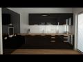 Frézované úchytky kuchyňských dvířek a kuchyní