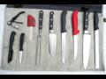 Profesionální nůžky a nože
