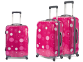 Pestrý výběr pohodlných a levných cestovních zavazadel