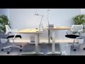 Dílenský stůl s výškově stavitelnými nohami