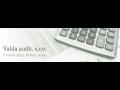 Valda audit, s.r.o., Praha 4: finan�n� ��etnictv�, veden� podvojn�ho ��etnictv�