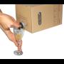 BAG-in-BOX - un inballaggio di carta che ha il succo
