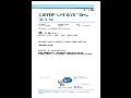 Certifikát systému řízení společnosti BEL.