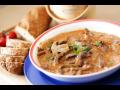 polévky a další bezlepkové potraviny