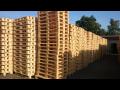 Dřevěné palety všech typů a rozměrů vyrábí firma Woodcity