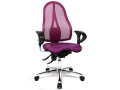 Pohodlné nastavitelné židle Sitness a Therapia pro zdravé sezení