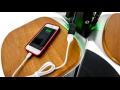 Sol�rn� nab�je�ka Energy Street Charge nabije mobiln� telefony i tablety stejn� rychle jako z�suvka